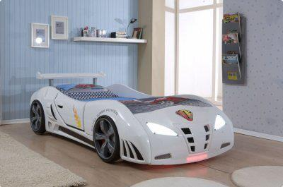 Cobra White Car Beds