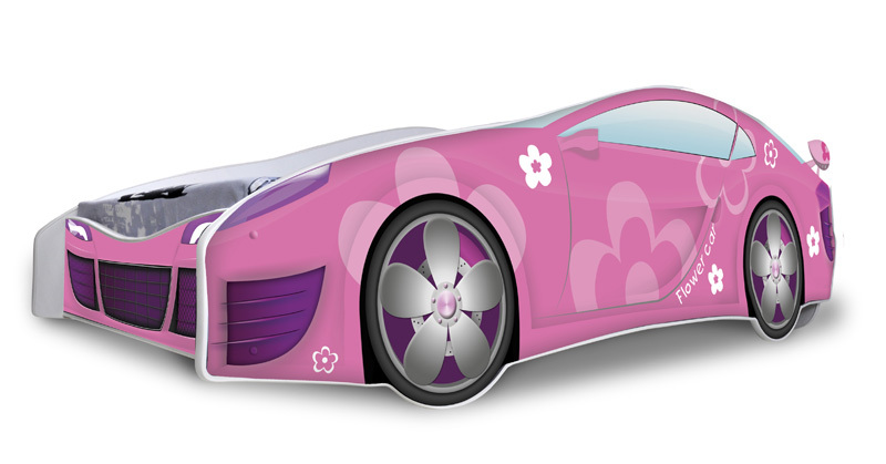 Ultimate Pink Car Bed