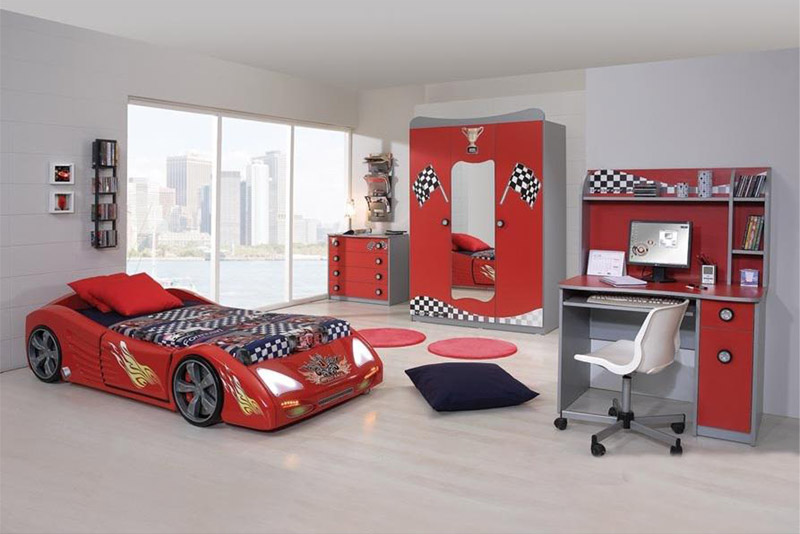 Extreme Car Beds | Diablo Red Car Beds by Extreme Car Beds ...